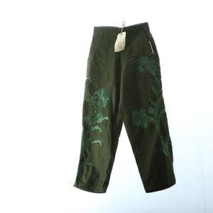 Anthropologie Womens Trousers Small Handmade Vinta